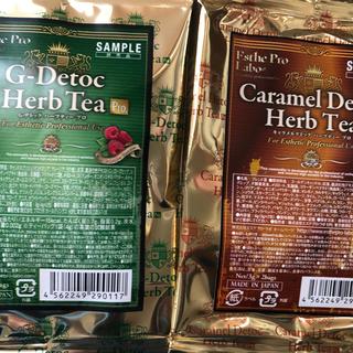 要コメント☆Gデトック 30袋60包 ハーブティー  ラズベリーかキャラメル (茶)