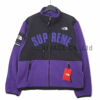 シュプリーム(Supreme)のTNF Arc Logo Denali Fleece Jacket 紫XL(その他)