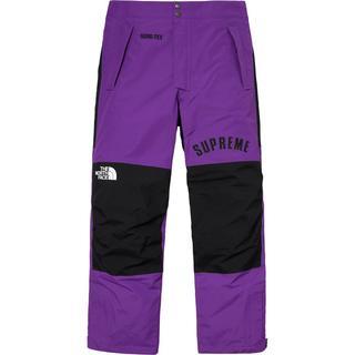シュプリーム(Supreme)のSupreme TNF Arc Logo Mountain Pant 紫S(その他)