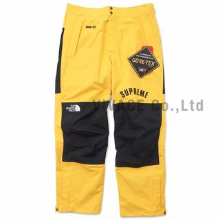 シュプリーム(Supreme)のSupreme TNF Arc Logo Mountain Pant 黄XL(その他)