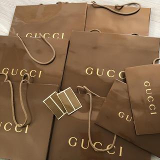 グッチ(Gucci)の未使用品☆GUCCI ショッパー セット売り(ショップ袋)