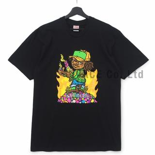 シュプリーム(Supreme)のSupreme Molotov Kid Tee 黒S(Tシャツ/カットソー(半袖/袖なし))
