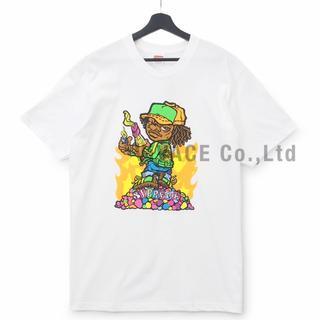 シュプリーム(Supreme)のSupreme Molotov Kid Tee 白S(Tシャツ/カットソー(半袖/袖なし))
