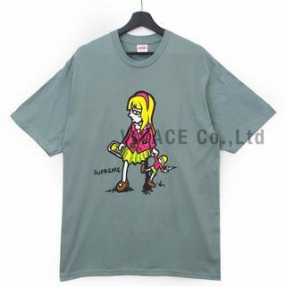 シュプリーム(Supreme)のSupreme Suzie Switchblade Tee ダークセージXL(Tシャツ/カットソー(半袖/袖なし))