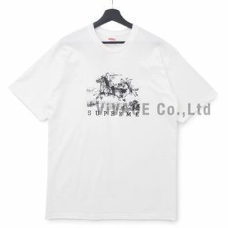 シュプリーム(Supreme)のSupreme Riders Tee 白S(Tシャツ/カットソー(半袖/袖なし))
