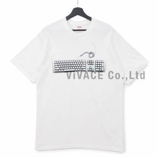 シュプリーム(Supreme)のSupreme Keyboard Tee 白(Tシャツ/カットソー(半袖/袖なし))