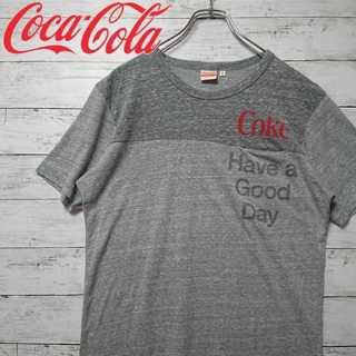 コカコーラ Tシャツ 柔らか生地 胸ポケット UT N113(Tシャツ/カットソー(半袖/袖なし))