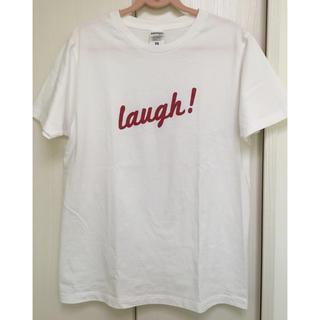 ★赤ロゴ 白Tシャツ  S(Tシャツ/カットソー(半袖/袖なし))