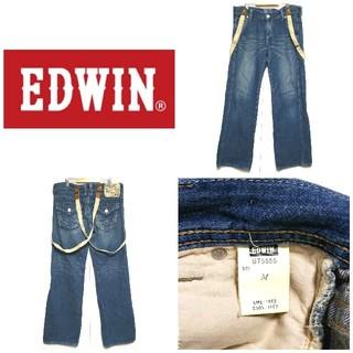 エドウィン(EDWIN)の☆EDWIN☆BLUE TRIP サスペンダーデニムパンツ メンズMサイズ(デニム/ジーンズ)