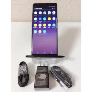 サムスン(SAMSUNG)の最終値下げ!極美品海外版SIMフリーSamsung Galaxy Note8(スマートフォン本体)