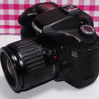 キヤノン(Canon)の✨思い出たくさん✨Canon EOS 40D レンズキット・元箱付き(デジタル一眼)