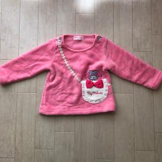 シマムラ(しまむら)の美品 しまむら マイメロディ フリーストップス ピンク90cm  サンリオ (Tシャツ/カットソー)