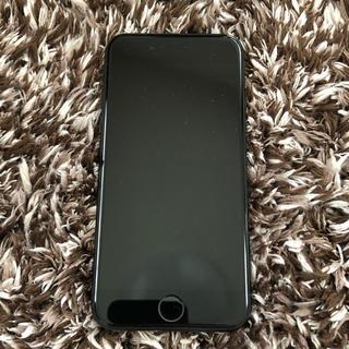 アップル(Apple)のiPhone 7 mattBlack 128 GB SIMフリー(スマートフォン本体)