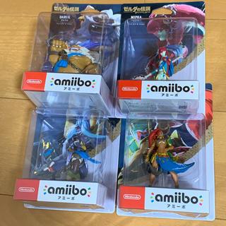 ニンテンドースイッチ(Nintendo Switch)の【新品未開封 送料無料】アミーボ ゼルダの伝説 ブレスオブワイルド 4人の英傑(ゲームキャラクター)