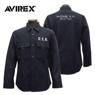 アヴィレックス(AVIREX)のAVIREX ミリタリージャケット(ミリタリージャケット)