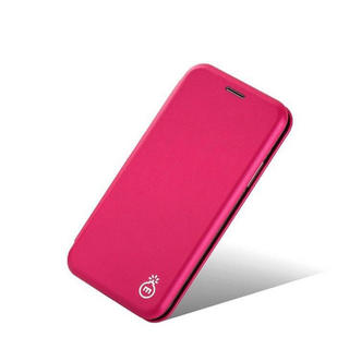 iPhone7/8 〔ピンク〕 シンプル 薄型 カプセル  手帳型ケース(iPhoneケース)