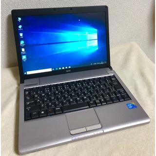 エヌイーシー(NEC)の超軽量 ノートパソコン NEC オフィス搭載 core i7 windows10(ノートPC)