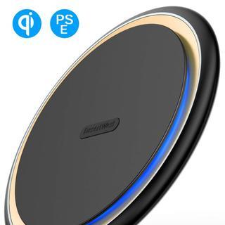 Qi 15W ワイヤレス充電器 Qi認証済み/PSE認証済】 急速充電 3(バッテリー/充電器)