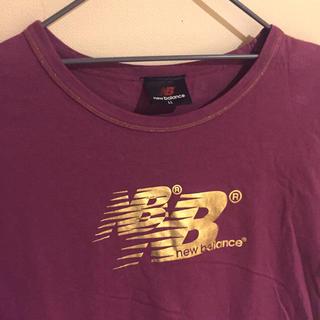 ニューバランス(New Balance)のニューバランス Tシャツ ワインレッド S(Tシャツ/カットソー(半袖/袖なし))