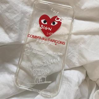 コムデギャルソン(COMME des GARCONS)のギャルソン 7/8(iPhoneケース)