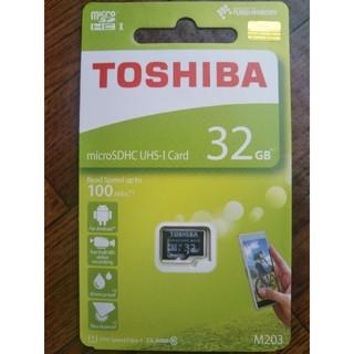 トウシバ(東芝)の東芝マイクロ SD 32GB∼送料無料(その他)