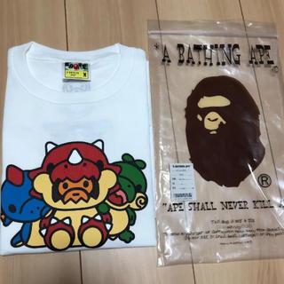 アベイシングエイプ(A BATHING APE)のA bathing ape(Tシャツ/カットソー(半袖/袖なし))