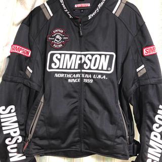 シンプソン(SIMPSON)のSimpson 夏用バイクジャケット(ライダースジャケット)