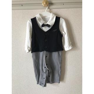 ef7b92c895c95 ベルメゾン(ベルメゾン)のフォーマル ロンパース 男の子 ベビー 70(セレモニードレス スーツ)