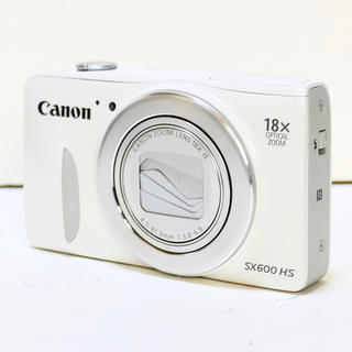 キヤノン(Canon)の⭐️Wi-Fi搭載⭐️光学18倍⭐️PowerShot SX600 HS(コンパクトデジタルカメラ)