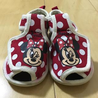ディズニー(Disney)のミニーちゃん サンダル 14cm(サンダル)