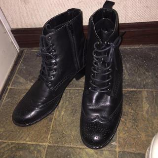リーガル(REGAL)のリーガル/Fauve/レースアップ/ショートブーツ/革靴/(ローファー/革靴)