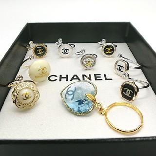 CHANEL - (無断購入お断り)シャネル ヴィンテージ リング 指輪 ピアス変更可