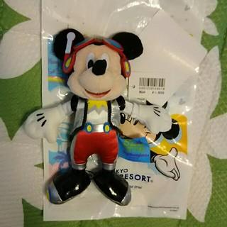 ディズニー(Disney)のディズニー ぬいぐるみバッジ ミッキー①(ぬいぐるみ)