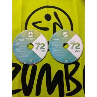 ズンバ(Zumba)のZUMBA ズンバ ZIN72 CD&DVD インストラクター専用(スポーツ/フィットネス)