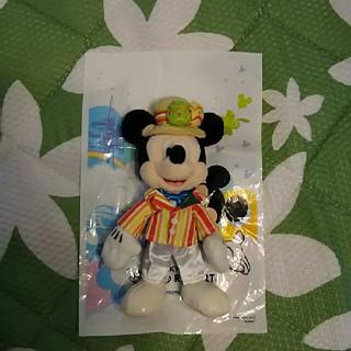 ディズニー(Disney)のディズニー ぬいぐるみバッジ ミッキー④(キャラクターグッズ)