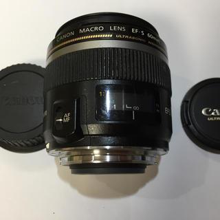 キヤノン(Canon)のCANON MACRO LENS EF-S 60min(レンズ(ズーム))