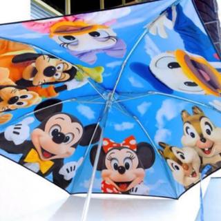 ディズニー(Disney)の送料込み ディズニー 実写 傘 日傘 雨天兼用 TDR 限定 新品(傘)