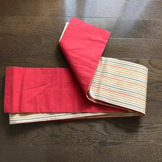 半幅帯 浴衣帯 リバーシブル(浴衣帯)