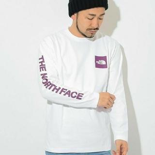 ザノースフェイス(THE NORTH FACE)のTHE NORTH FACE ノースフェイス ロンT スクエアロゴ Mサイズ (Tシャツ/カットソー(七分/長袖))