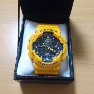 カシオ(CASIO)のジーショック イエロー 未使用に近い かなり美品(腕時計(デジタル))