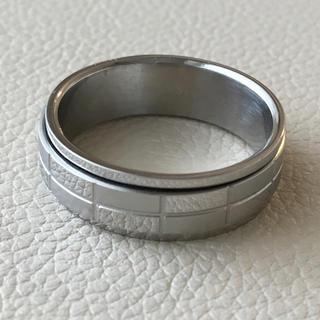 (13)チョコレートのようなシンプルリング シルバー アンティーク(リング(指輪))