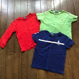ラルフローレン(Ralph Lauren)のラルフローレン 長袖 半袖 Tシャツ 90 3枚セット①(Tシャツ/カットソー)