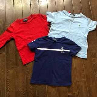 ラルフローレン(Ralph Lauren)のラルフローレン 長袖 半袖 Tシャツ 90 3枚セット②(Tシャツ/カットソー)
