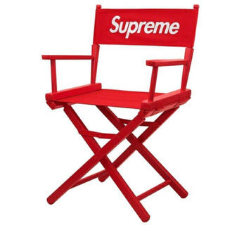 シュプリーム(Supreme)のsupreme director's chair red 19ss(折り畳みイス)