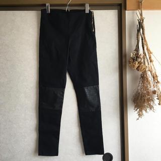 エイチアンドエム(H&M)のH&M 黒レギンス風パンツ(レギンス/スパッツ)