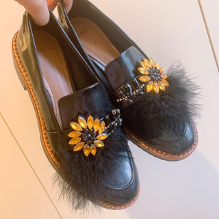 ザラ(ZARA)のZARA ローファー(ローファー/革靴)
