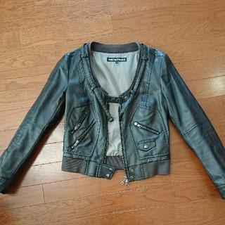 ゴーサンゴーイチプーラファム(5351 POUR LES FEMMES)のレザージャケット(ライダースジャケット)