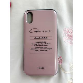 アイスー(i-SOOK)のK様専用 isook iphoneXケース カード収納機能付き(iPhoneケース)