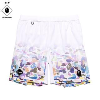 A BATHING APE - 希少XL BAPE x FCRB GAME SHORTS 込み