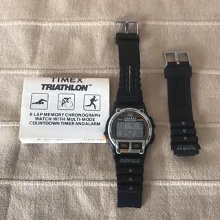 タイメックス(TIMEX)のタイメックス アイアンマン 復刻版 ジャンク(腕時計(デジタル))